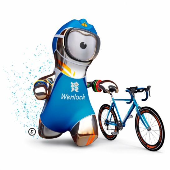 LONDON 2012 Wenlock triathlete.....