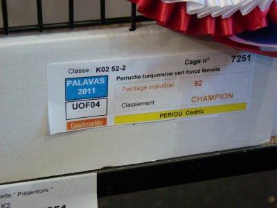 Championnat de France (UOF) Palavas Les Flots 2011