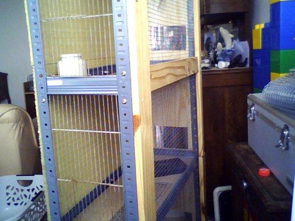 Nouvelles cages en préparation