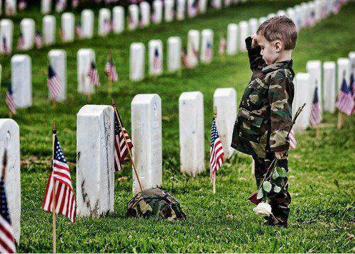 Hommage aux soldats !!!