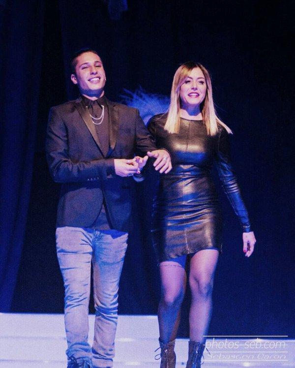 Anais jury pour l'election Miss Isere 2015 avec Eddy