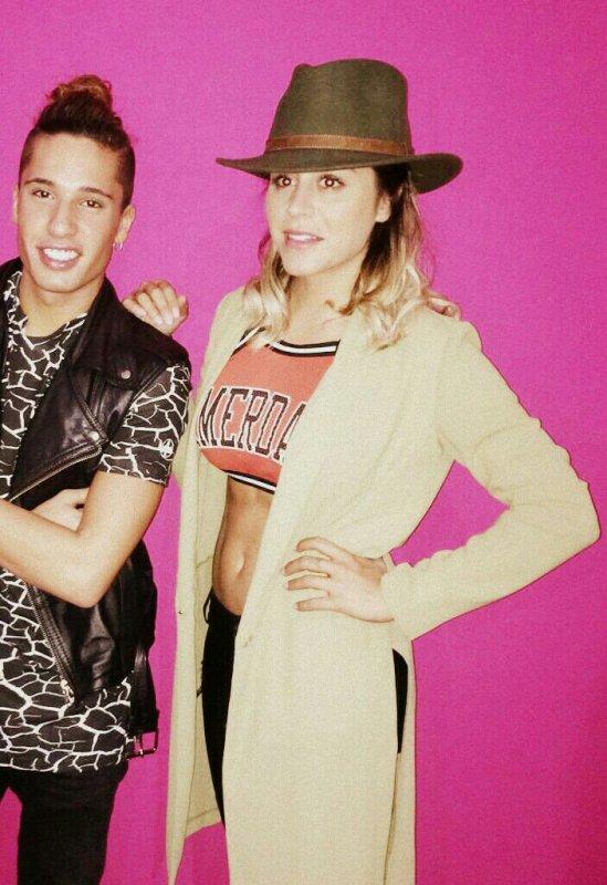 Anaïs et Eddy au Salon #WTF2015 ???✌