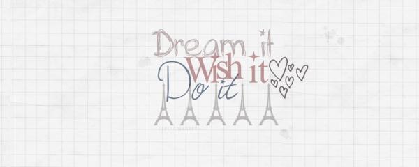I want ....