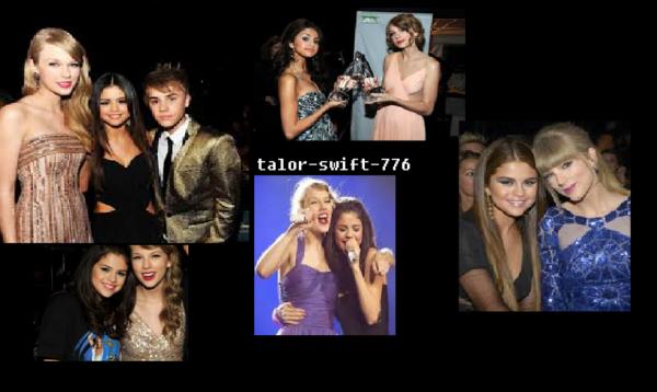 Taylor Swift et selena amitié cacher a cause de justine????