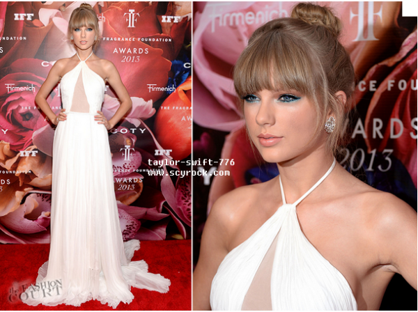 taylor swift au Fragrance Foundation Awards 2013