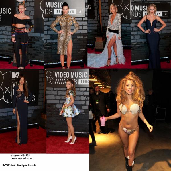 d'aprés Qui Etait  La Plus Belle AU MTV VMA