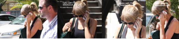 Taylor qui sort de gym