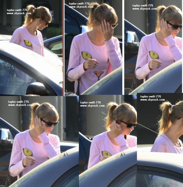Taylor look: Taylor au studio de dance a a Los Angeles