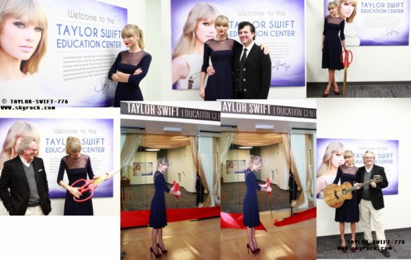 Taylor Swift EDUCATION CENTER qui a ouvert