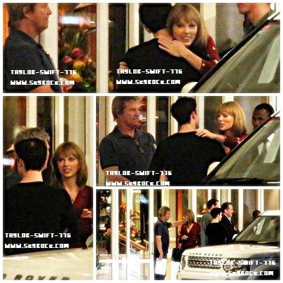 21/10/13 Taylor Swift en dehors de son hôtel à Cape Town, Afrique du Sud