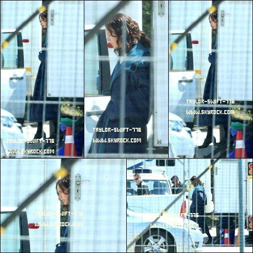 22/10/13 Taylor  Swift sur le tournage de The Giver à Cape Town, AFRIQUE DU SUD