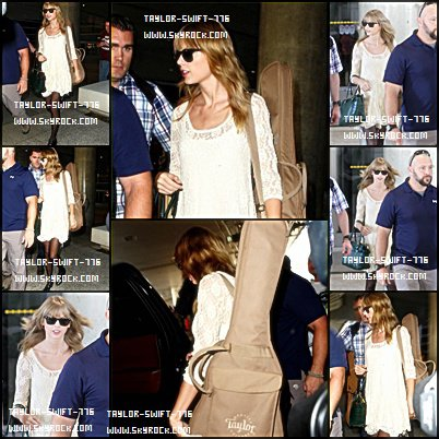 22/10/13 Taylor  Swift  À l'aéroport de Los Angeles