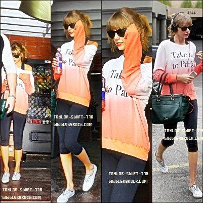 24/10/13 Taylor Swift en dehors d'un studio de danse à Los Angeles, Californie