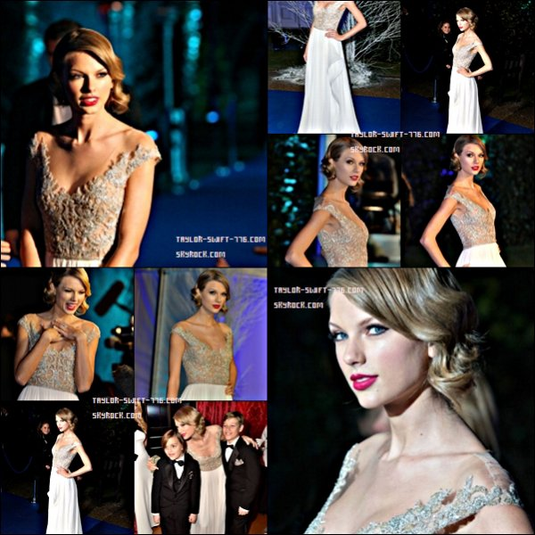 Taylor Swift - Meeting Prince William @ Winter Whites Gala, Kensington Palace