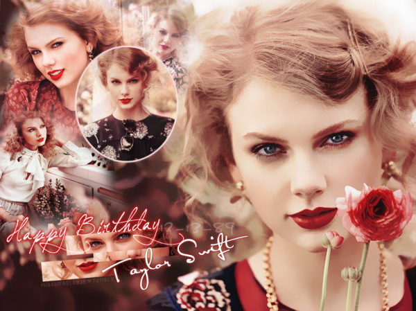 HAPPY BIRTHDAY Taylor Swift 24th !!!! #Swiftieforever