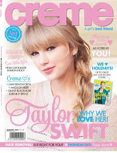 Taylor pour Creme + Photo instagram