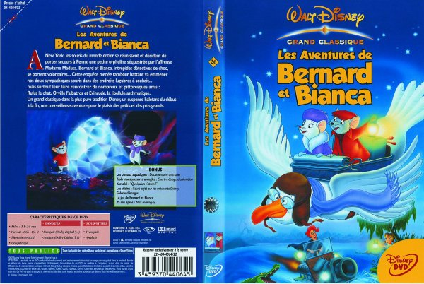 N° 26  Les aventures de bernard et bianca