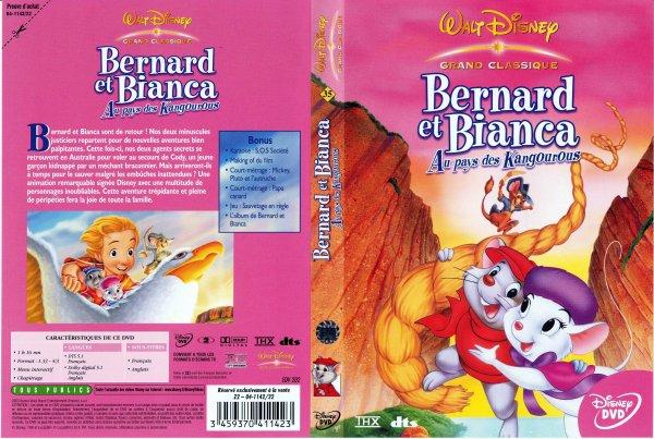N° 35  Bernard et Bianca aux pays des kangourous