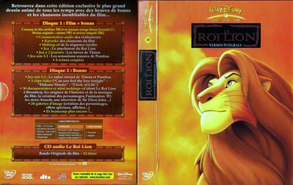 N° 38  Le roi lion