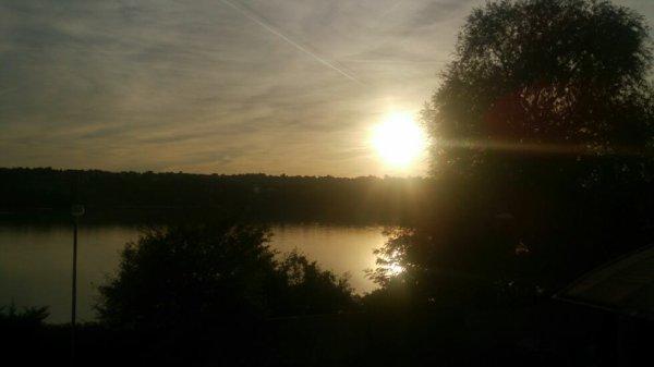 Le lac de viry-chatillon