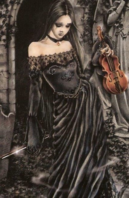 Le violon vu par Victoria Frances!!