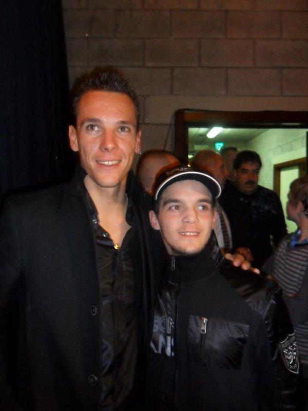 moi avec philippe gilbert (champion de belgique et numéro 1 mondial cycliste)