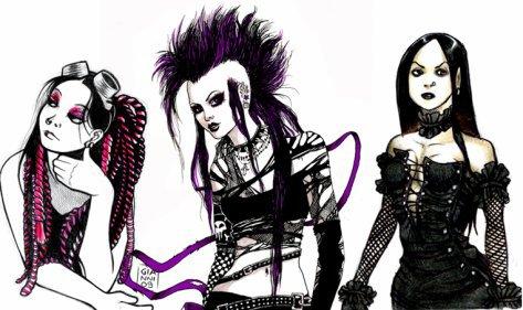 Musique gothique, non metal !