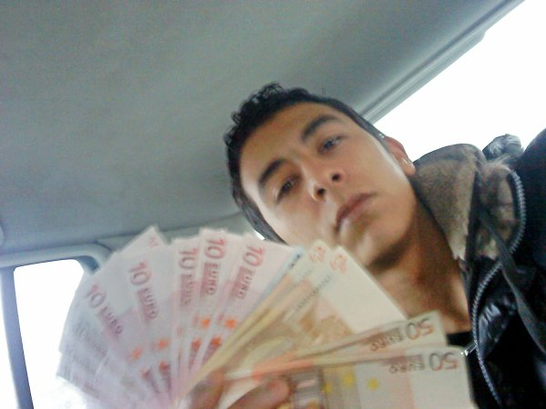 l'argent + moi =rabta