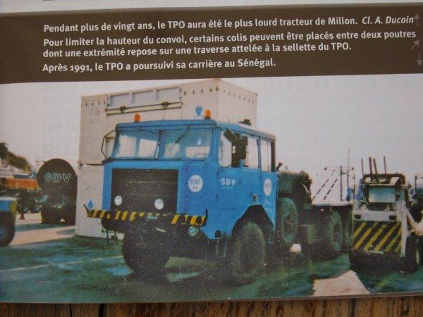BERLIET TPO 6X6 transports MILLON
