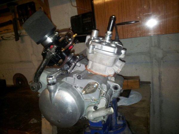 Remontage du moteur