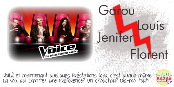 Télé-réalité : The Voice ♥