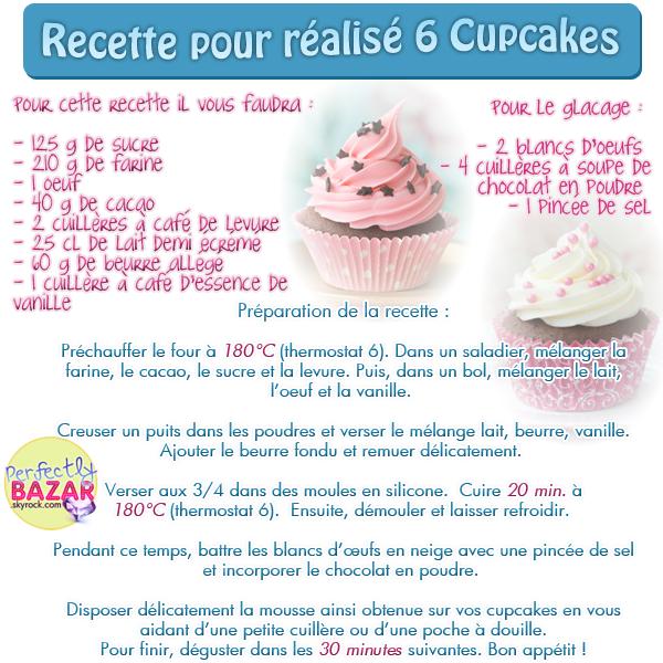 Recette : Cupcakes ♥