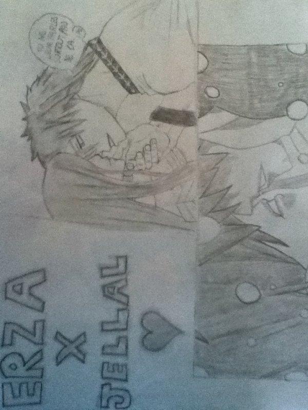 Erza x jellal (dessin)