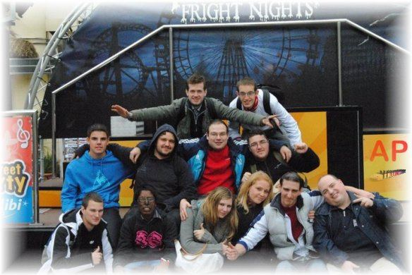 Meeting Walibi World Halloween Fright Nights 2010