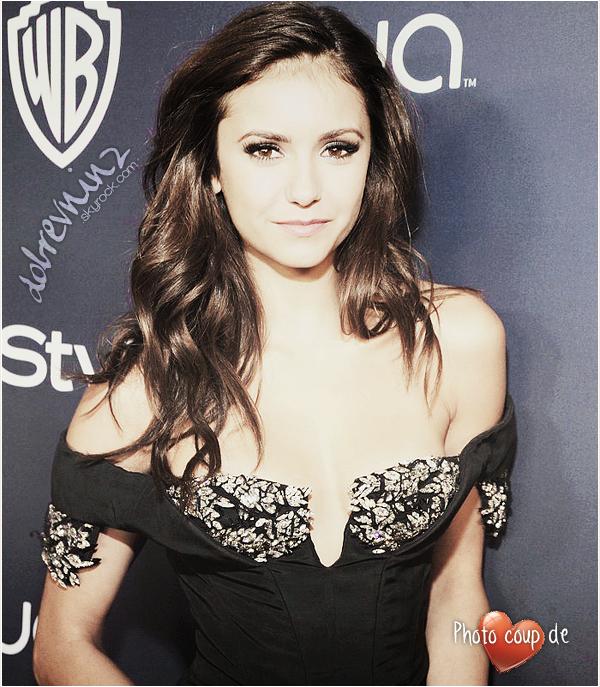 *  12 janvier, Nina s'est rendu à l'after party des Golden Globes organisée par InStyle et Warner Bros. *
