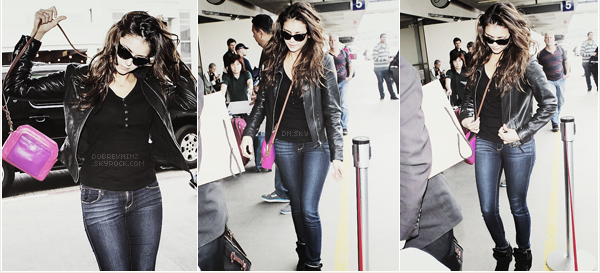 * 24 mars : Nina à été aperçue à l'aéroport de LAX, à Los Angeles. *