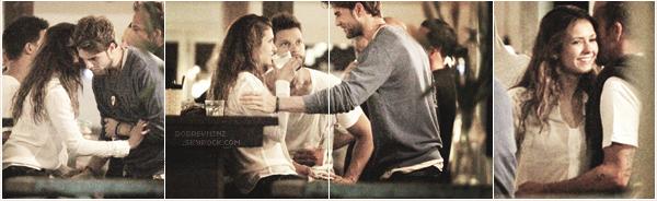 . 02 janvier 2014, Nina et Nathaniel étaient tout deux, de sortie avec des amies dans un restaurant à Sydney. .