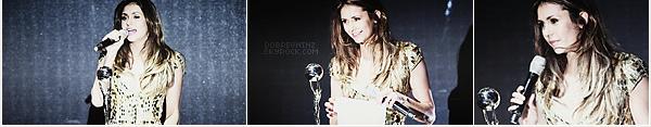 * Nina s'est rendue à la cérémonie des« World Music Awards »qui avaient lieu hier27 MaiàMonte-Carlo(Monaco). *
