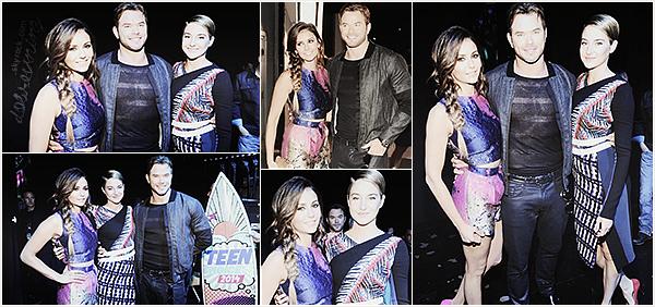 Nina, plus belle que jamais, était présente auTeen Choice Awardsle10 AoûtàLos Angeles.