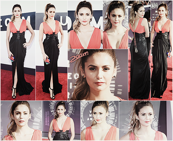 Nina était présente auxMTV Video Music Awardsce 24 août, elle était rayonnante.