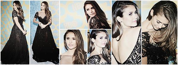 Nina était présente, le 12 janvier dernier, aux diverses soirées desGolden Globes édition 2015.
