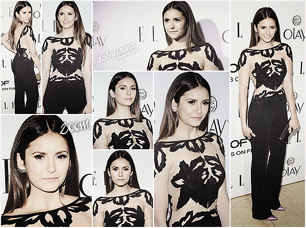 Nina à l'événement « ELLE's Annual Women In Television Celebration » à Sunset Tower - West Hollywood.