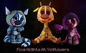 Les differents animatronics !