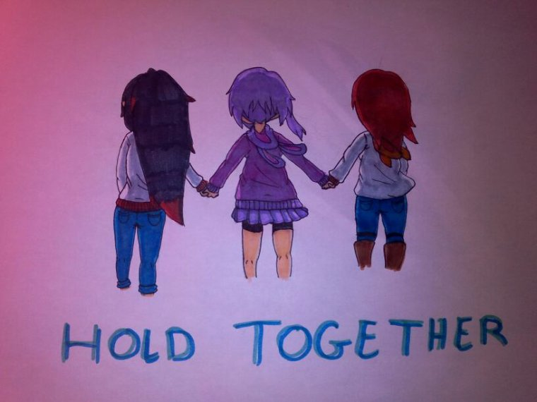 Challenge des 100 dessins - HOLD TOGETHER