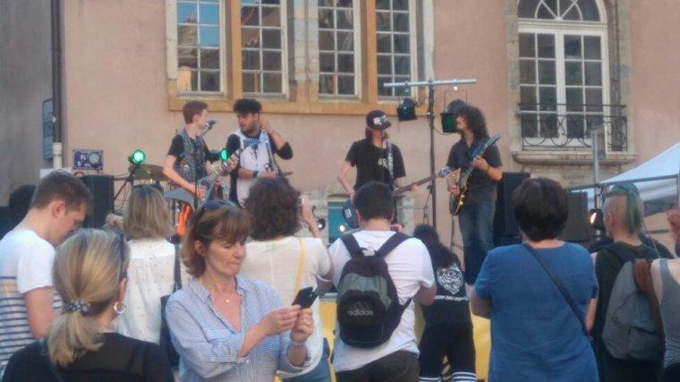 Un concert au vieux Lyon ?