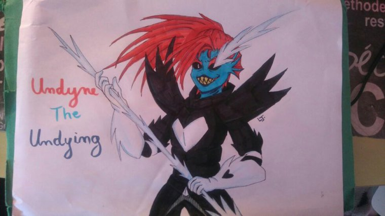 DESSINS - Undyne The Undying