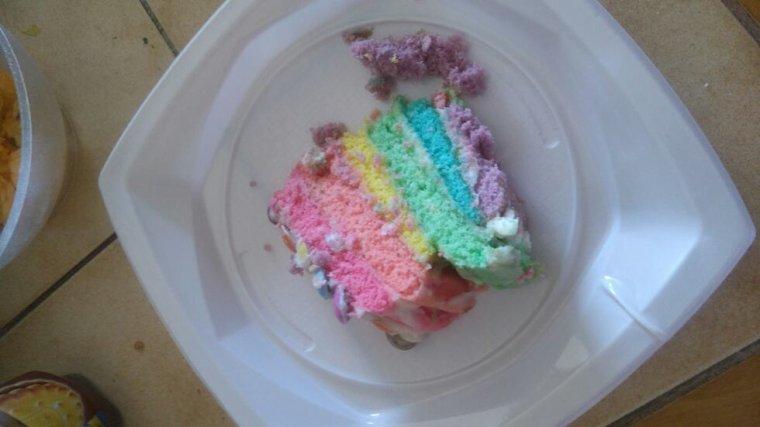 CUISINE - Rainbow Cake !