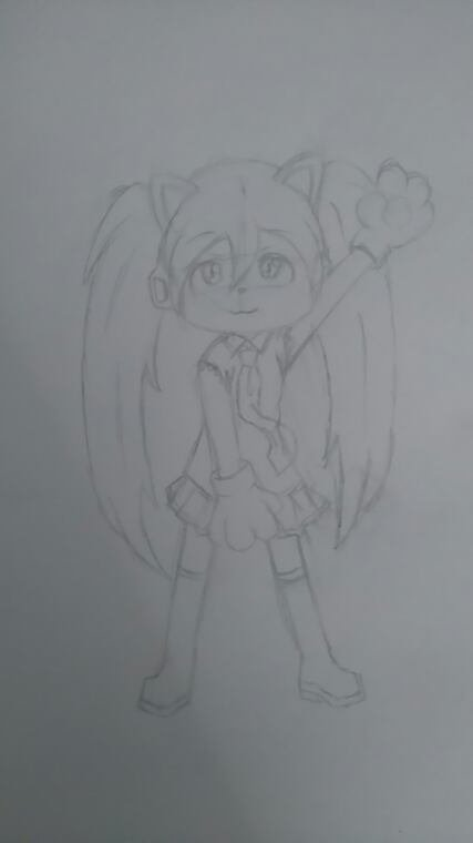 DESSIN - Hatsune Miku