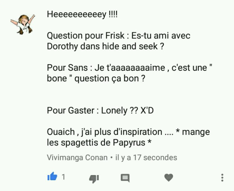 F.A.Q UNDERTALE - Vivimanga Conan
