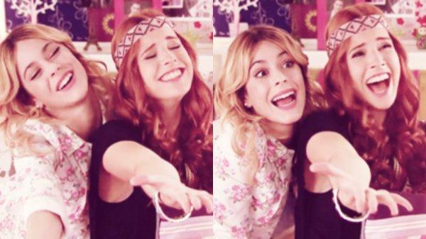Violetta, Francesca et Camila